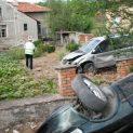 23-годишна блъсна три коли и се