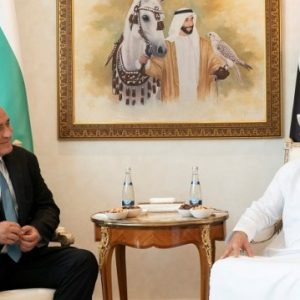 Борисов обсъди кризата с престолонаследника на Абу Даби