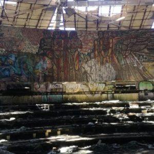 Започна реставрирането и укрепването на мозайките на Бузлуджа