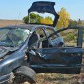 Млад мъж се обърна с колата си и загина