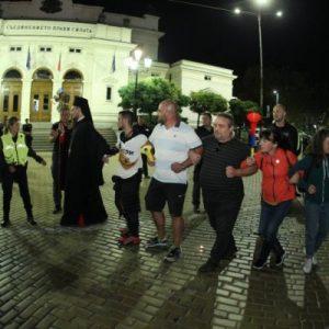 Напрежение между протестиращи и полиция пред старата сграда на НС