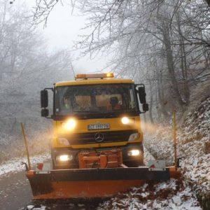 Планинските пътища във Витоша вече са опесъчени