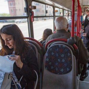 Протест на автобусните кондуктори във Варна