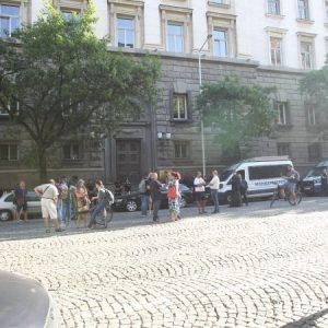Протестиращи блокираха столичния бул.