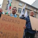 Протестиращи щурмуваха министерството на Аврамова, 40 обгазени