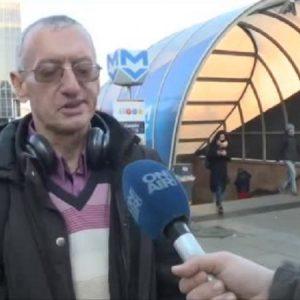 Арестуваният в метрото без маска не вярва в коронавируса