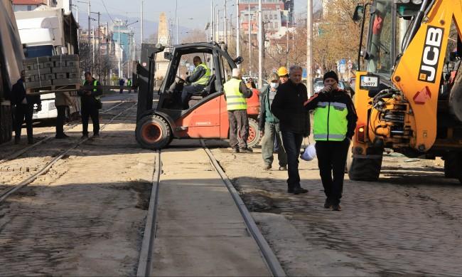 Промени в движението на три трамвайни линии в София